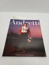 Andretti Book Paul Newman Rare Sample Copy Book Mario 1994