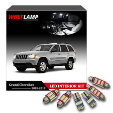 14Pcs White Canbus Kit LED Interior Car Light For 2005-2010 Jeep Grand Cherokee