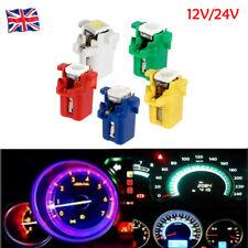 12V 24V B8.3D T5 W3W 5050 LED Gauge Speedo Dashboard Dash Side Light Bulbs