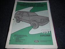 1991 FORD EXPLORER BRAKES STEERING SUSPENSION A/C MANUA