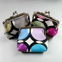 New Girls Ladies Retro Print Coin Purses Small Wallet Party Favours Secret Santa