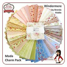 Moda Charm Pack Square Quilt Fabric Windermere vintage shabby-chic floral pastel