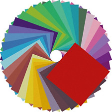 Origami Paper Double Sided Color - 200 Sheets - 20 Colors - 6 Inch Square Easy