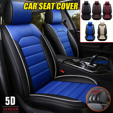 Universal Car Seat Cover PU Leather Breathable Front Cushion Mat