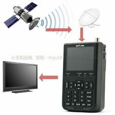 "Satellite Signal Finder Satlink WS-6906 DVB-S FTA Data Digital Meter 3.5"" LCD"