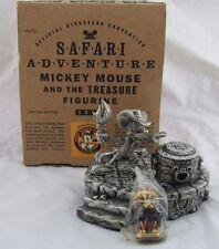 1999 Disneyana Convention Safari Adventure Pewter Mickey Mouse and the Treasure