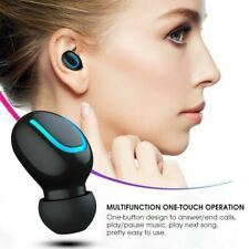 Bluetooth 5.0 Wifi Wireless 5D Stereo Headphone Headset Single Earbud Accessory