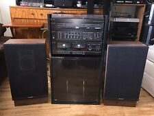 Vintage Sharp Integrated Music System - Record Player Model SG-55