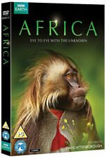 AFRICA - Complete David Attenborough BBC Earth Collection (NEW DVD R4)
