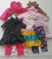 Baby girl clothes lot of 15, include mixed brands. See  descriptions