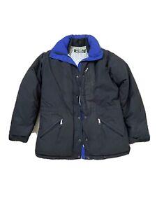 LL Bean Black Snow Jacket Puffer Medium