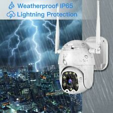 2MP Wireless PTZ WiFi Camera Motion Detection 4x Optical Zoom Outdoor APP Remote