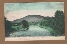 Claremont,NH New Hampshire, Ascutney Mountain from Lottery Bridge pre 1907