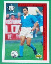 FOOTBALL CARD UPPER DECK 1994 USA 94 EUGENIO CORINI ITALIA ITALIE SQUADRA