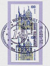 BRD 2001: Schweriner Schloß! SWK Nr. 2188 BC + BD mit NAPOSTA-Stempel! 1711