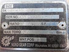 Nord Gear SK02F-560 6.89 Ratio Gear Reducer / Motor - w/ 30 Day Warrantee !!