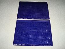 PEUGEOT 405 de 1993 piezas Microficha Juego Completo de 2 May 2002 NUEVO