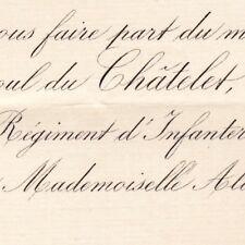 Raoul Armynot Du Châtelet Saint-Phal 1881 Alice Le Prieur De Roquemont Besançon