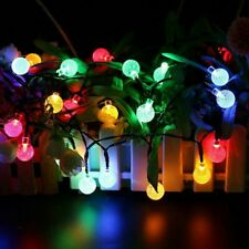 30 LED Solar Lights Waterproof String Light Multi-color Garden Party Decor Lamp