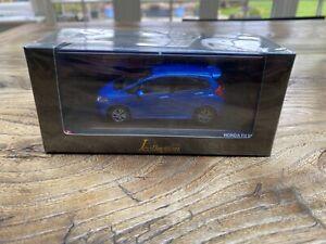 1:43 J Collection / Kyosho Honda Fit RS / Honda Jazz - blue metallic - new