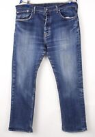 Levi's Strauss & Co Hommes 501 Droit Jambe Jeans Extensible Taille W38 L30