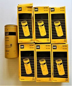 LOT OF 6 NEW CAT 1R-0739 OIL FILTER CATERPILLAR 1R0739 OEM NOS