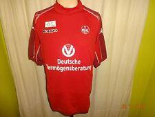 "1.fc Kaiserslautern KAPPA ORIGINALE maglia di casa 2005/06 ""dvag"" Taglia L-XL TOP"