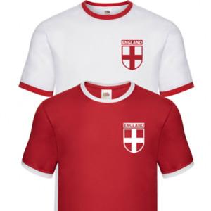 England Football Euro 2021 T-Shirt Tee Shirt Retro Men Unisex Women Shirt Ringer