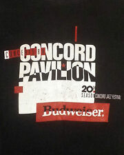 vtg 80s soft thin 1988 Jbl Concord Jazz Festival T-Shirt Gene Harris Ray Brown L