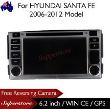 ".2"" Car DVD GPS Navigation Heard Unit Stereo For HYUNDAI SANTA FE 2006-2012"