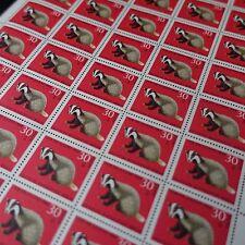 feuille sheet Bogen Deutschland berlin Nr.293 x50 1968 neuf luxe mnh