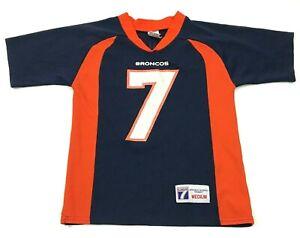VINTAGE John Elway Denver Broncos Football Jersey Youth Size Medium 10 - 12 USA