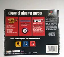 🎄 GTA original Backcover aus Collectors Edition PS1 Playstation PSX nur Cover