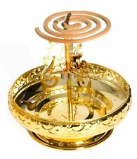 INCENSE COIL HOLDER GOLD