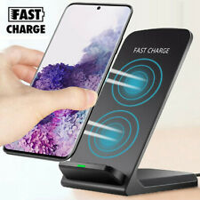 For Samsung Galaxy S20 Ultra S10+ Wireless Qi Fast Charger Charging Stand Dock