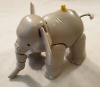 "Fisher Price Little People Elephant Toy with Mouse on Back Plays Sounds 7"" Long"