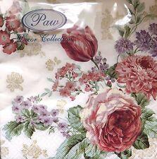 20 paper napkins Decoupage Collection Servietten Roses Blumen Flowers Tulips