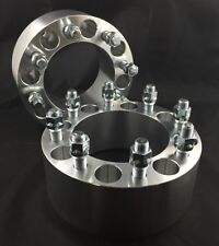 """4X Custom Wheel Spacers Adapters ¦ 8X6.5 TO 8X6.5 ¦ 14X1.5 ¦ 3"""" THICK CHEVY GMC"""