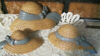 Home Interior Wall Decor Vintage HOMCO Hats WALL accent