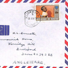 XX290 1979 BURUNDI *Bujumbura* YEAR OF THE CHILD Cover Commercial Airmail
