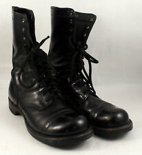 Vintage Corcoran Paratrooper Jump Boots Cordovan WWII Military Size 9 D Nice VGC