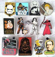 Star Wars The Force Awakens Last Jedi Rack Starter Set Choose a Disney Pin