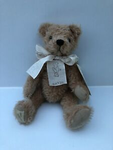 Deans Rag Book Mohair Jointed Teddy Bear 'Horace' 1997 Membership Bear 10""