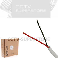 18/2 AWG Security Wire Burglar Alarm 500FT Stranded Unshielded Control Cable