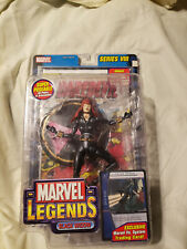 marvel legends series 8 black widow brand new in great shape