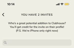 $4.98 Exclusive Invite to Clubhouse App - iOS And Android