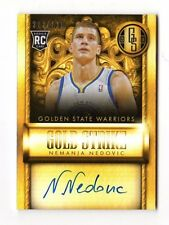 Nemanja Nedovic NBA 2013-14 Gold Standard oro huelga firmas (guerreros)