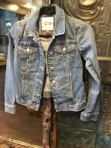 Tommy Hilfiger Boys Denim Jacket Size Extra Extra Small