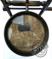 Valentine British Library Theme Glass Magnifier Antique Magnifying Glass Wood