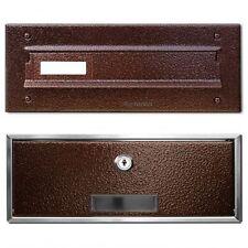Mauerdurchwurf Briefkasten Postkasten EinbauBriefkasten Antik Kupfer